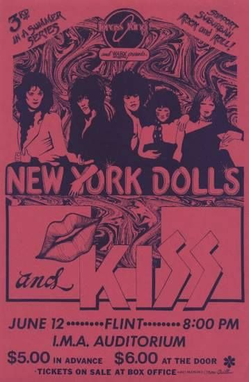 The Dolls didn't see this show but saw them in Detroit a few times.