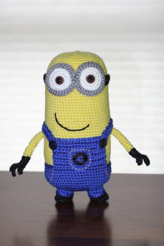 Pattern Despicable Me Minion Crochet Amigurumi Doll Crochet