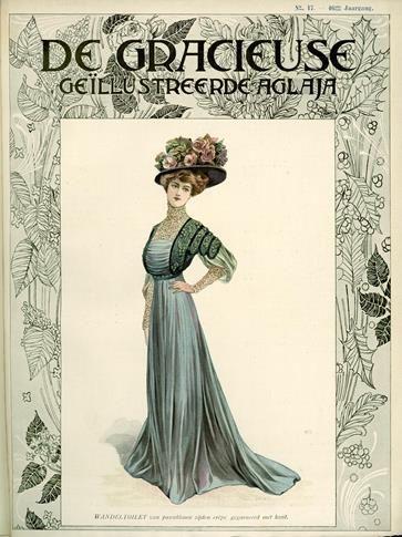 De Gracieuse, September 1908, Edwardian Fashion Plate