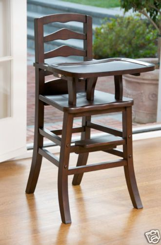 Obsessed With Wooden High Chairs I Had One When I Was A Kiddo Wood High Chairs Wooden High Chairs Baby High Chair
