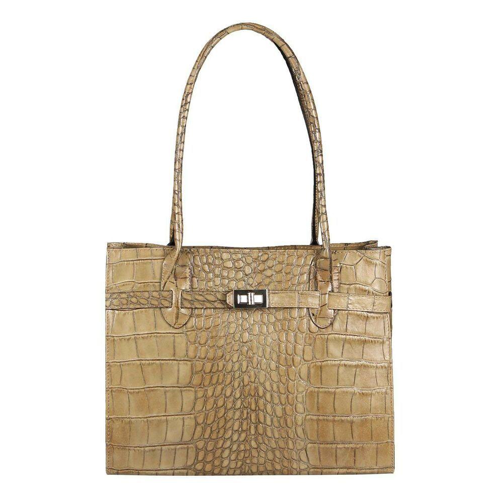 a839bffa98320 ICYMI   Werbung  ITAL DAMEN LEDER TASCHE Businesstasche Aktentasche  Schultertasche Handtasche Bag