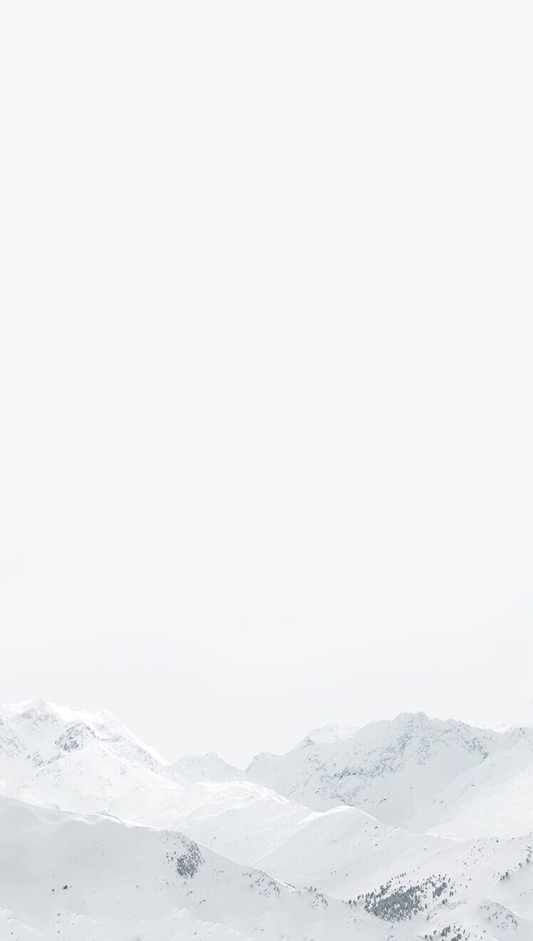 White Pure Winter Mountain Wallpaper Iphone Clean Beauty Peaceful Calming Iphone Wallpaper Winter White Wallpaper For Iphone Iphone Wallpaper Mountains
