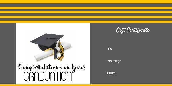 Graduation gift certificate templates free printable 100 graduation gift certificate templates free printable 100 customizable instant download yelopaper Gallery