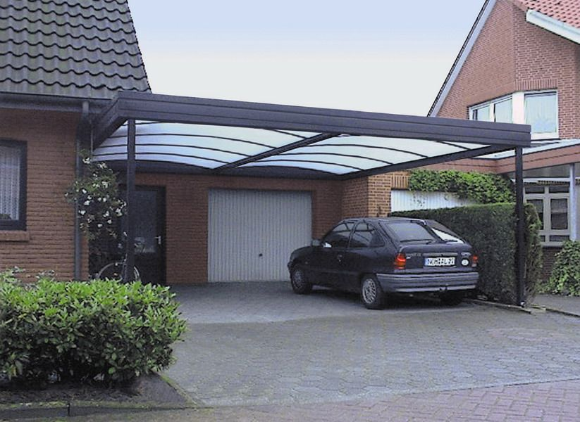 bildergebnis f r haus mit carport pergolas and carports. Black Bedroom Furniture Sets. Home Design Ideas