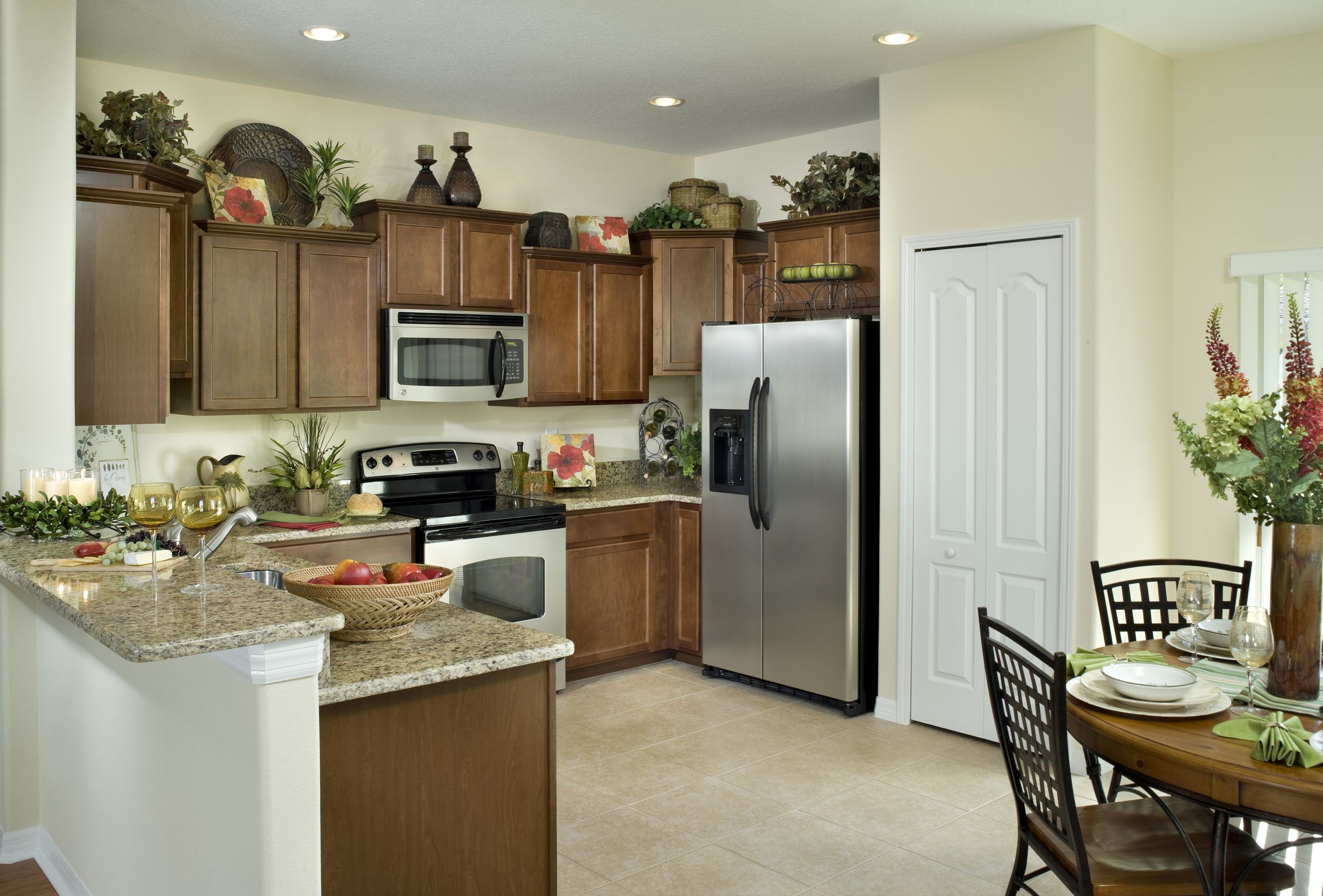 beautiful townhome kitchen with breakfast nook home new homes on kitchen nook id=97058