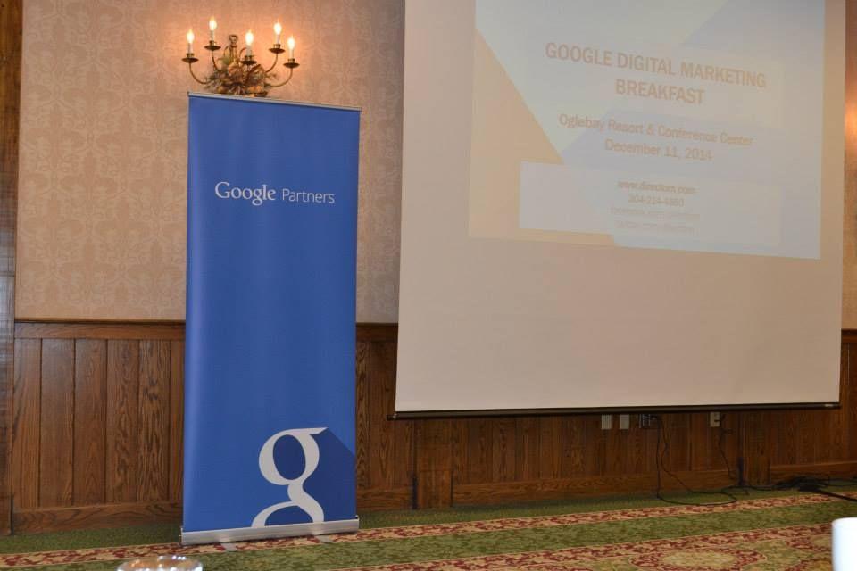 Google Partners - Digital Marketing Breakfast Dec. 11 2014 at Oglebeay Resort & Conference Center!