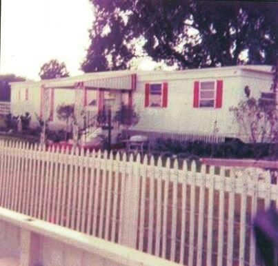 Elvis and Priscilla's trailer on the Circle G Ranch.