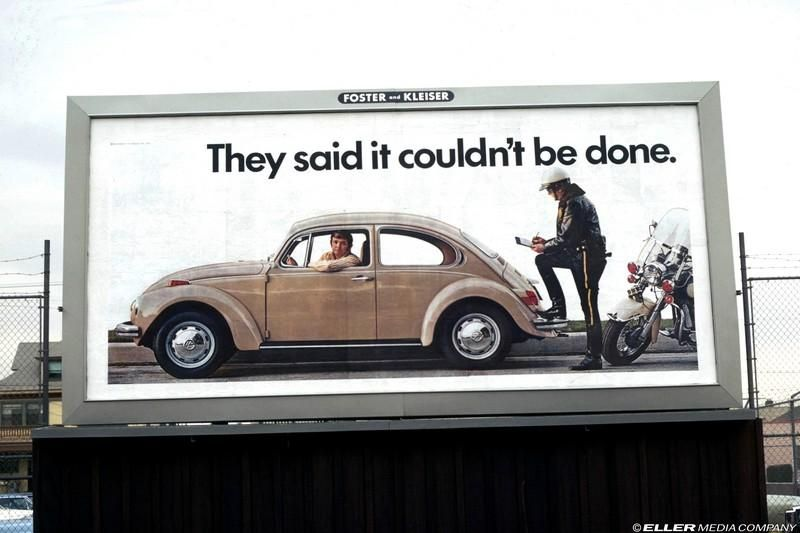 Volkswagen Ad - And They Said It