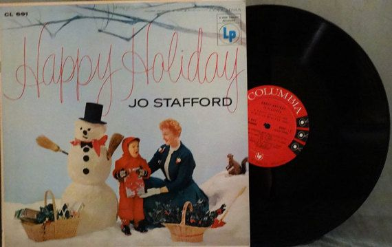 Jo Stafford  Happy Holiday 1955   LP Album Vinyl by DorenesXXOO