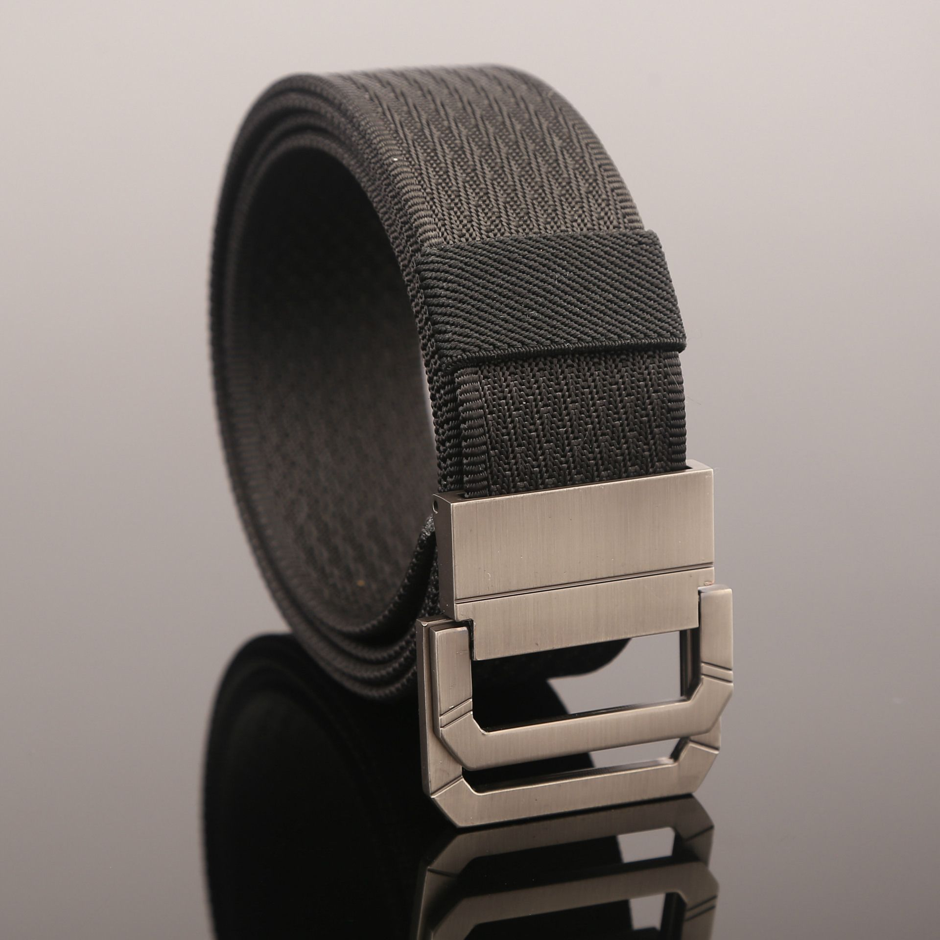 Blackhawk Double Ring Buckle Mens Nylon Canvas Belt for Men