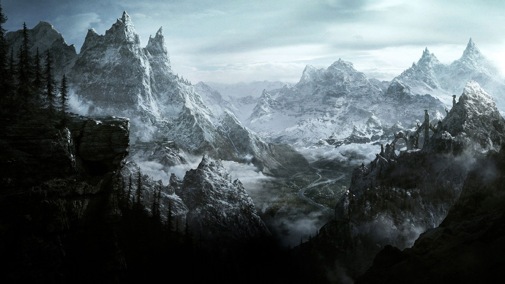 The Elder Scrolls V Skyrim Skyrim Wallpaper Skyrim Elder Scrolls
