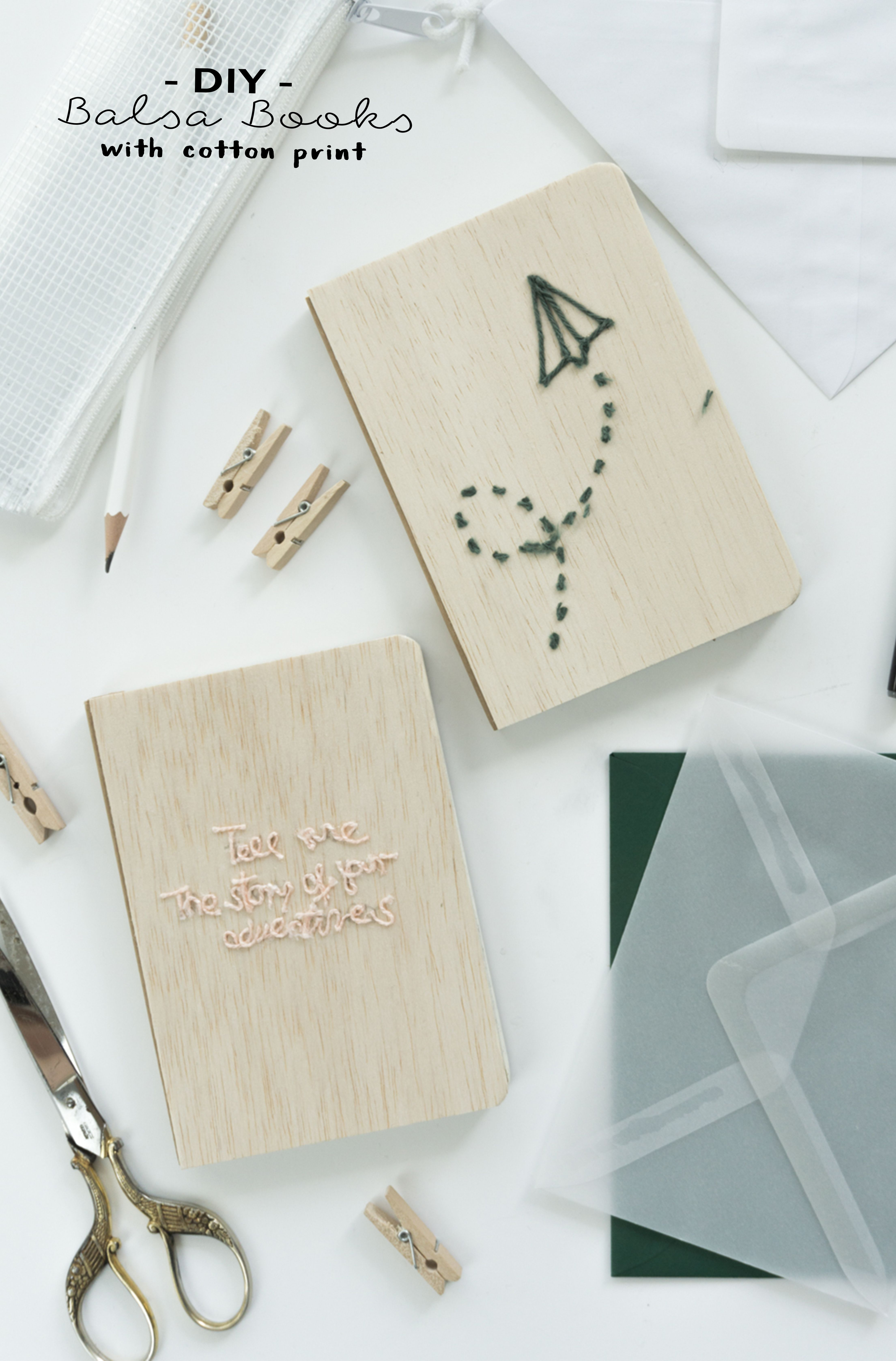 balsa books mit baumwollprint crafts pinterest basteln b cher und geschenke. Black Bedroom Furniture Sets. Home Design Ideas