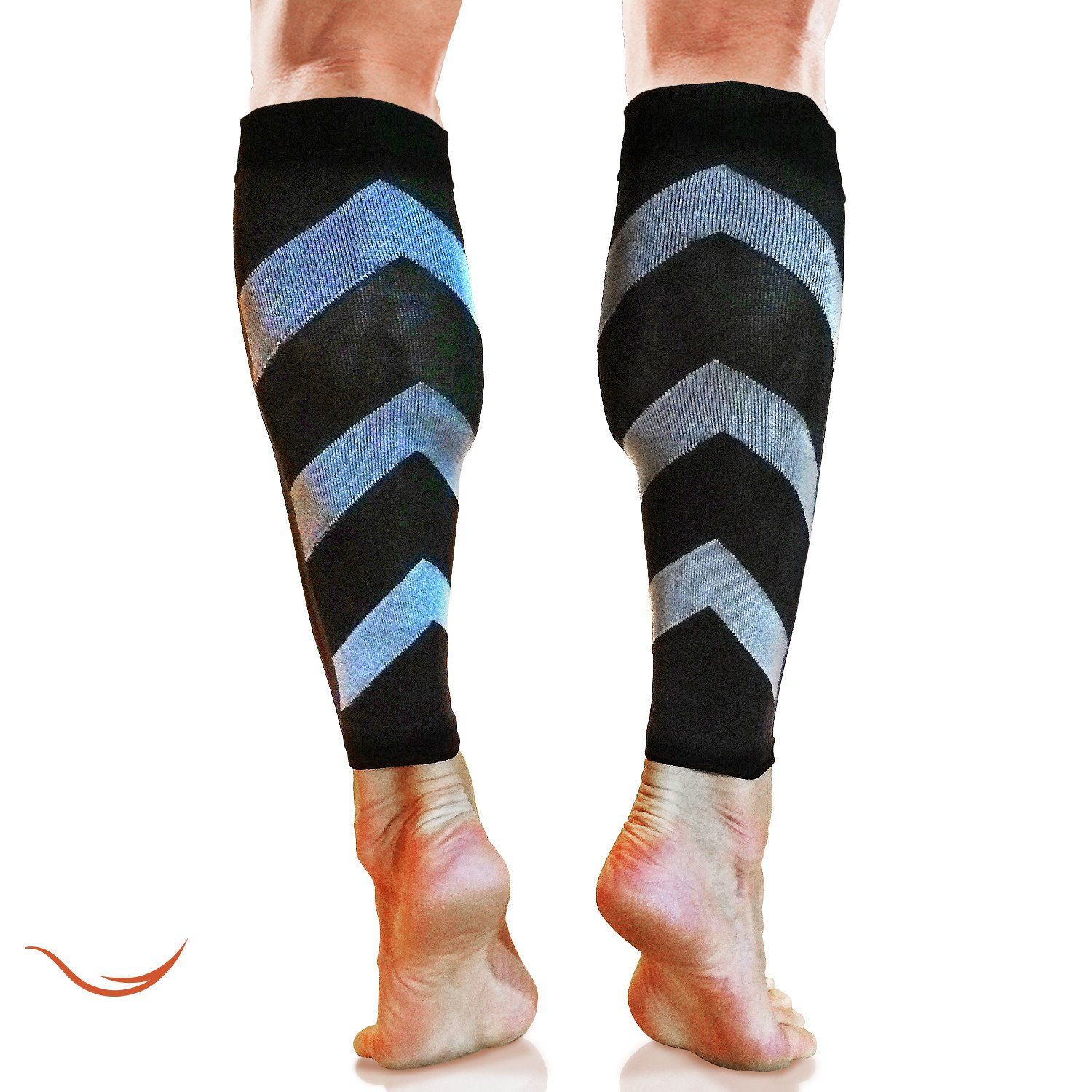 7120bddf994a5 Graduated Compression Calf Sleeves Guard Socks (1 Pair), Relief ...