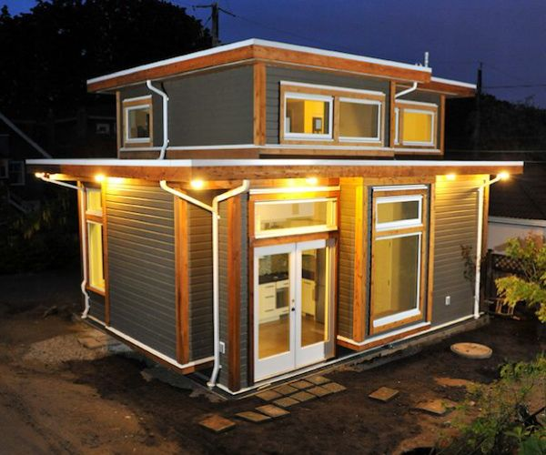 Shipping Container Designs: Tiny House Movement, Minihaus Und