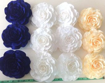 10 giant paper flowers $20