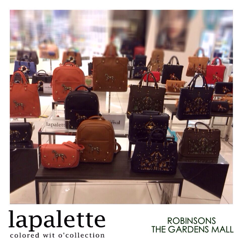 18b6a69b24 Lapalette Malaysia at Robinsons The Gardens Mall