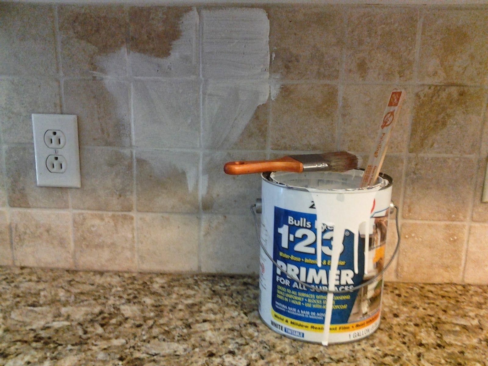 older and wisor Painting a Tile Backsplash and more easy kitchen updates