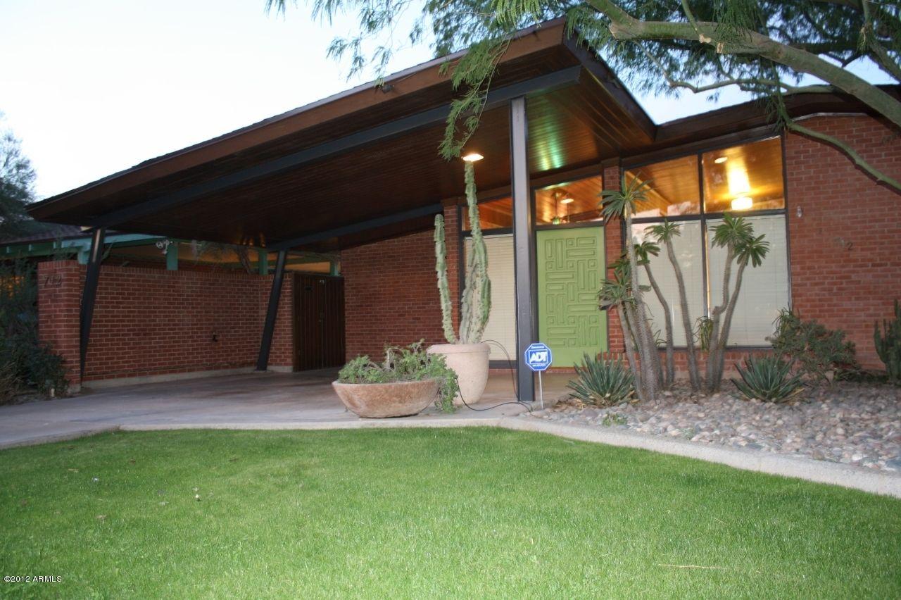 712 W Vernon Ave Phoenix Az 85007 Mid Century Modern House Mid Century Modern Door Mid Century Exterior