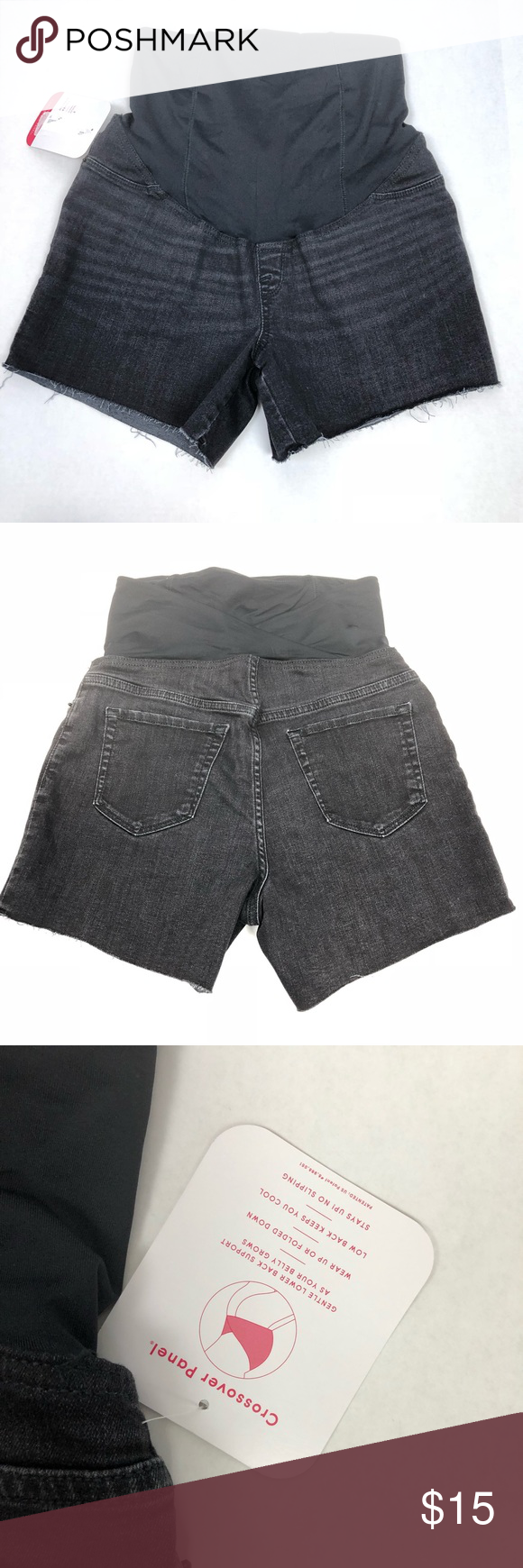 Isabel Maternity Black Denim Cutoff Shorts (4) Black denim cut off shorts by Isabel Maternity. Midi length. Cross over panel. New with tags. Isabel Maternity by Ingrid & Isabel Shorts #denimcutoffshorts Isabel Maternity Black Denim Cutoff Shorts (4) Black denim cut off shorts by Isabel Maternity. Midi length. Cross over panel. New with tags. Isabel Maternity by Ingrid & Isabel Shorts #denimcutoffshorts
