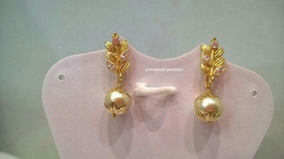 Pin by Ashwani Reddy on jewellery Pinterest Ear rings Blouse
