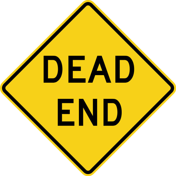 Writing Unforgettable Endings Dead End Sign Dead Ends Word Signs