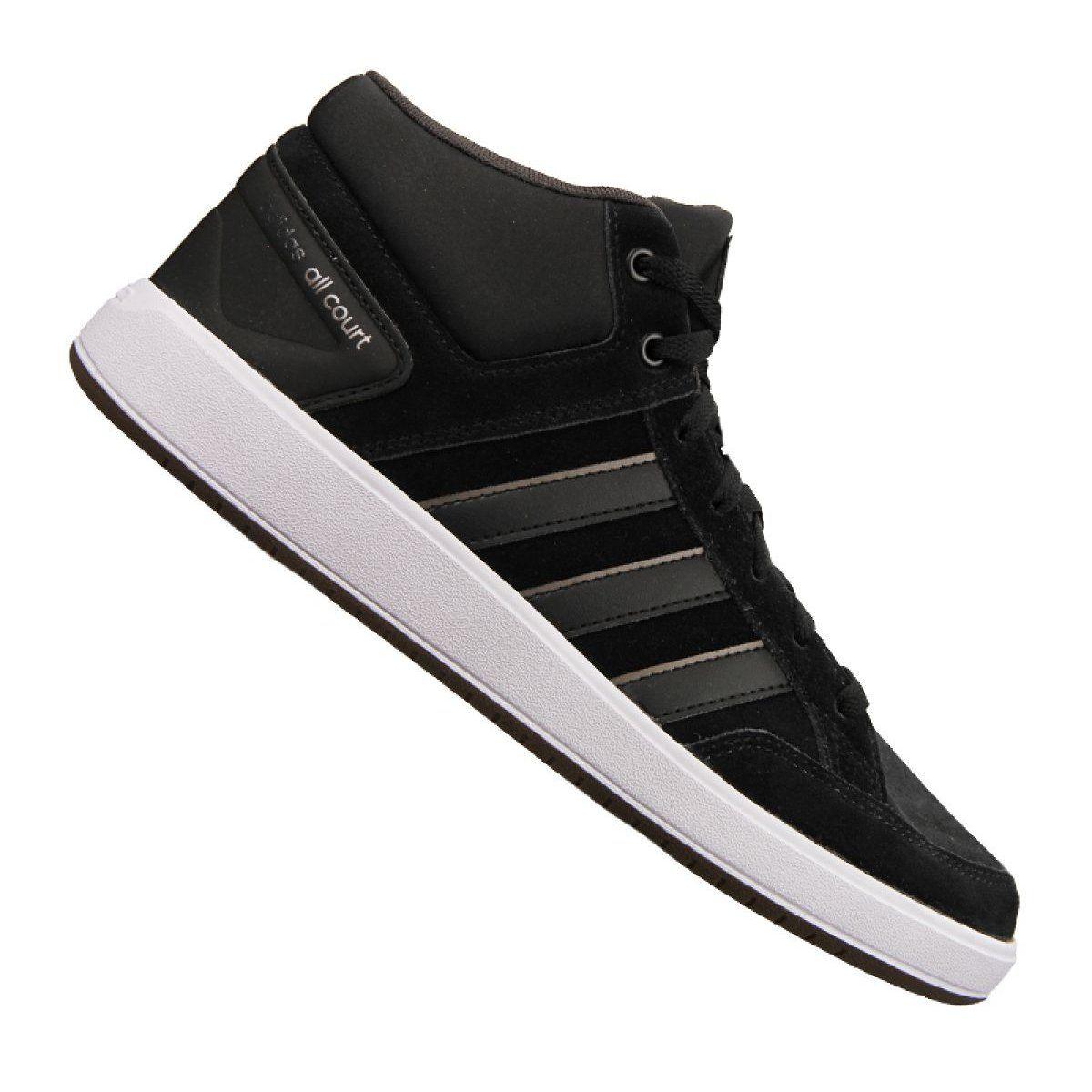 Buty Adidas Cloudfoam All Court Mid M B43858 Czarne Adidas Cloudfoam Sports Shoes Adidas Adidas