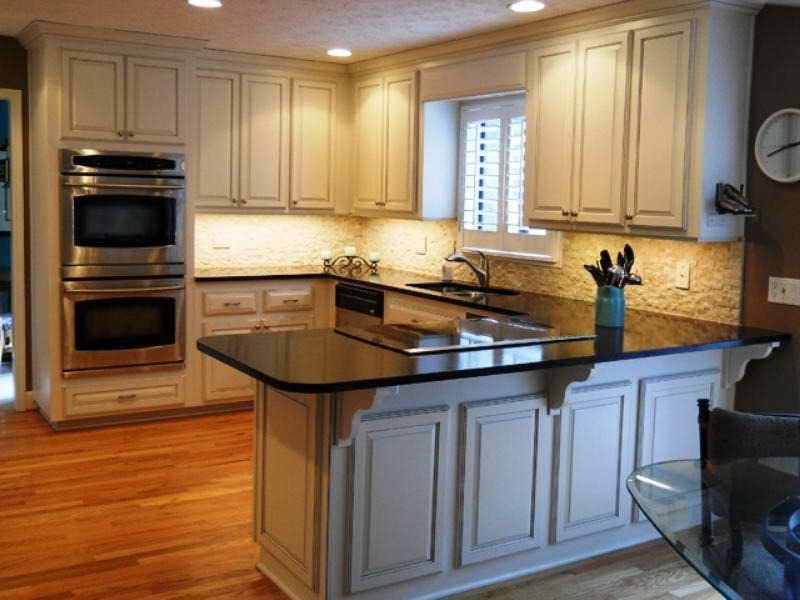 home depot kitchen cabinets reviews stainless sinks reface guide