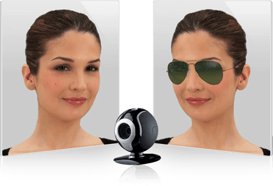 Try on the Full Ray Ban Sunglasses Collection with our Virtual Mirror and  chose your style