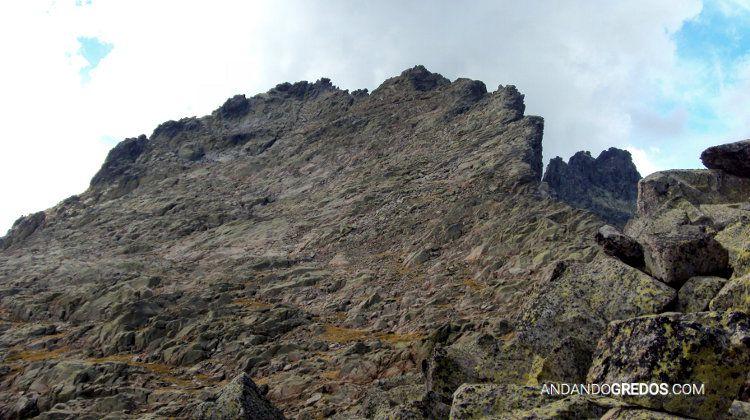 Cresta hacia el Cerro de los Huertos