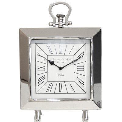 Castleton Home Porto Table Clock
