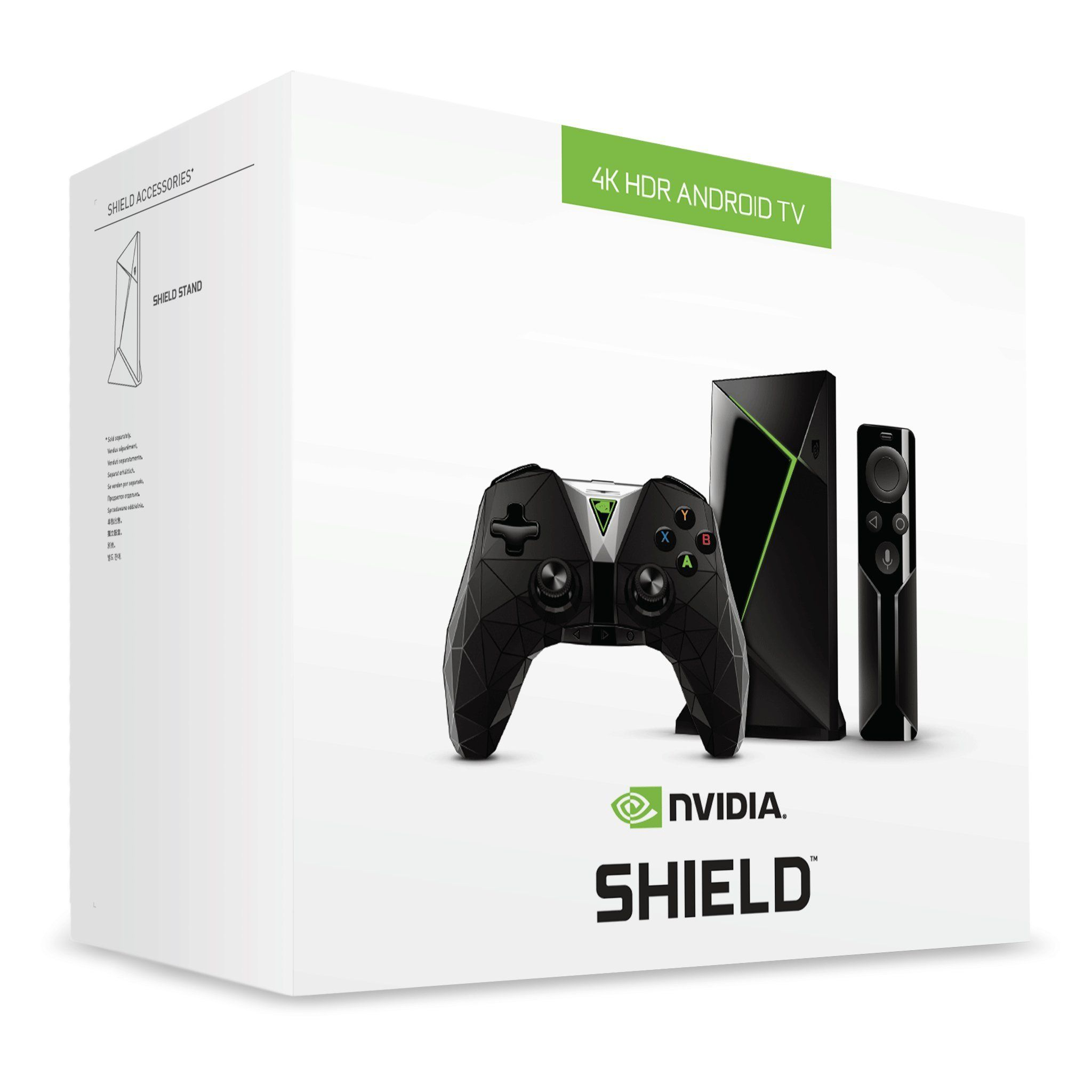 NVIDIA SHIELD TV Gaming Edition4K HDR Streaming Media Player with GeForce NOW
