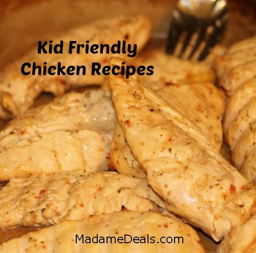 Easy kid chicken recipes