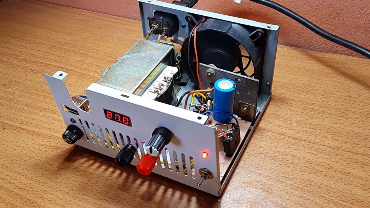 You Are Testing The Power Supply In A Pc System By Measuring The Voltage