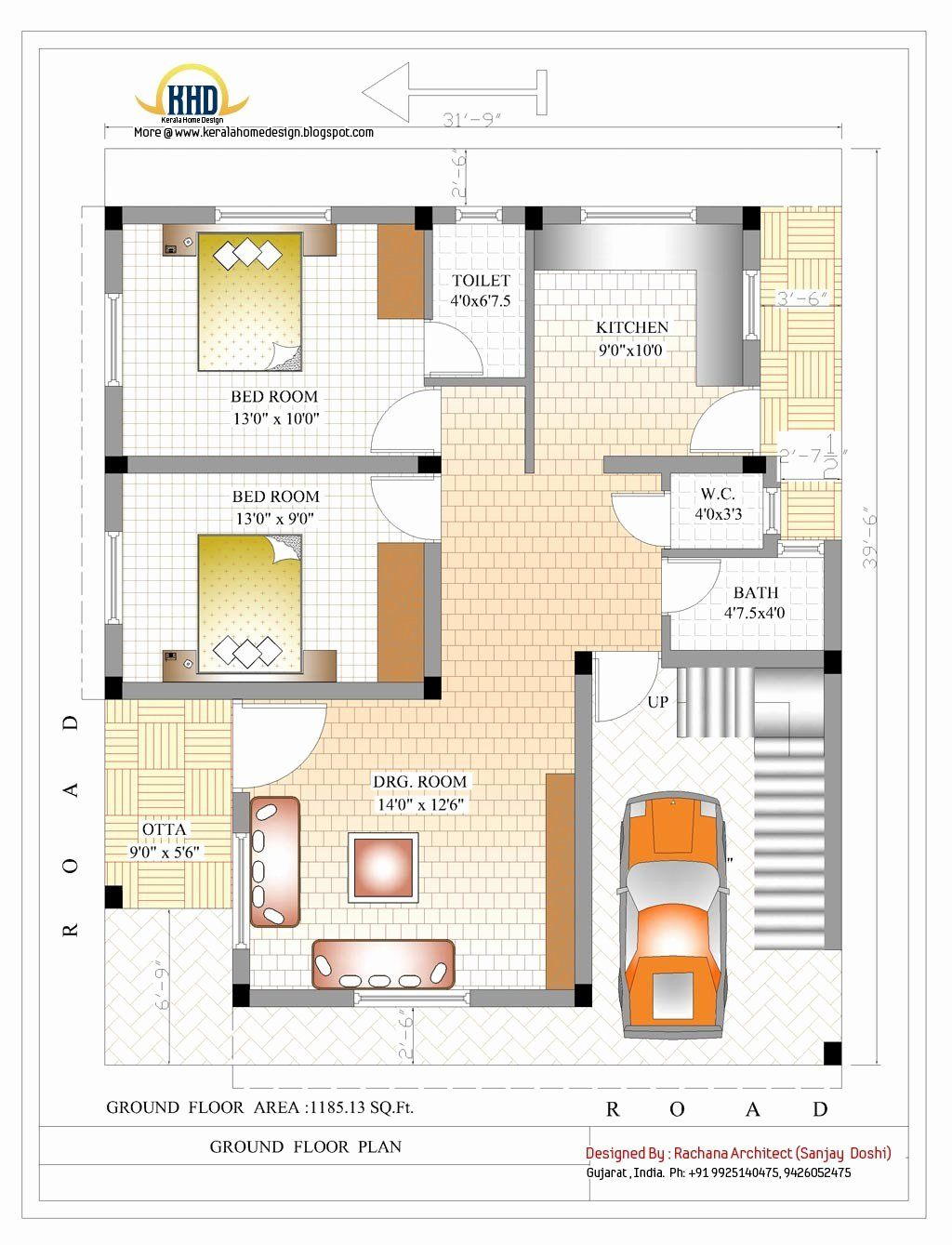 1500 Sq Ft House Plans Awesome Awesome Indian House Plans New Design Model In 2020 Small House Plans Model House Plan Indian House Plans
