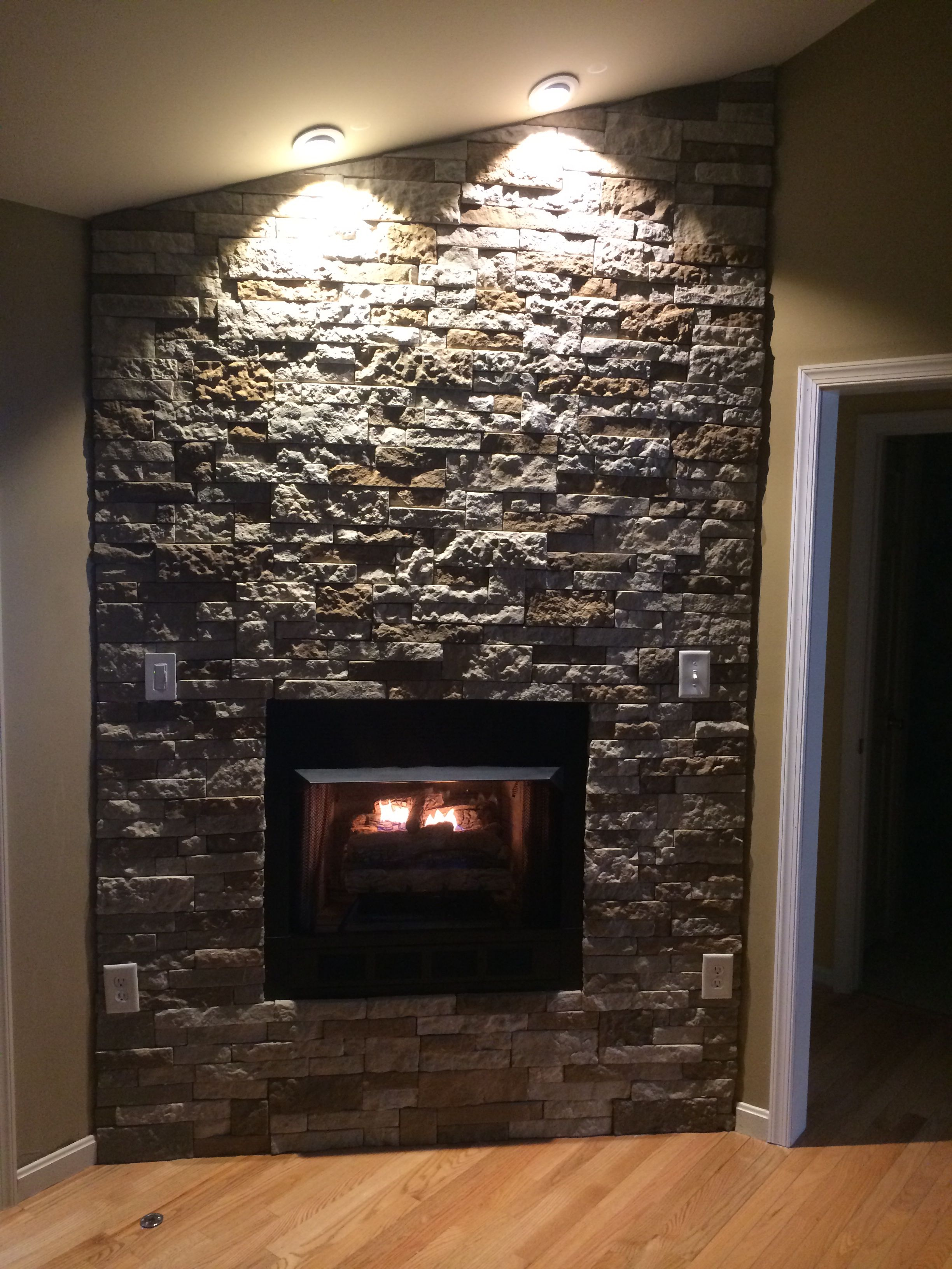 Airstone From Lowes Great Look To A Gas Fireplace Gas