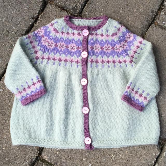 baby girl's fair isle sweater | Knitting - Babies & Kids ...