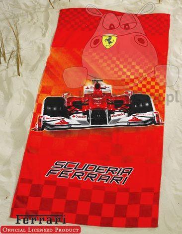 Ferrari race - beach towel with Ferrari blid   Ferrari Scuderia ... 25cd763f7a