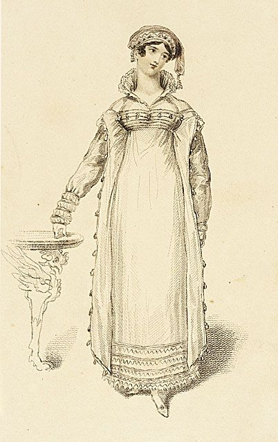 March 1816. Costume for dinner parties.