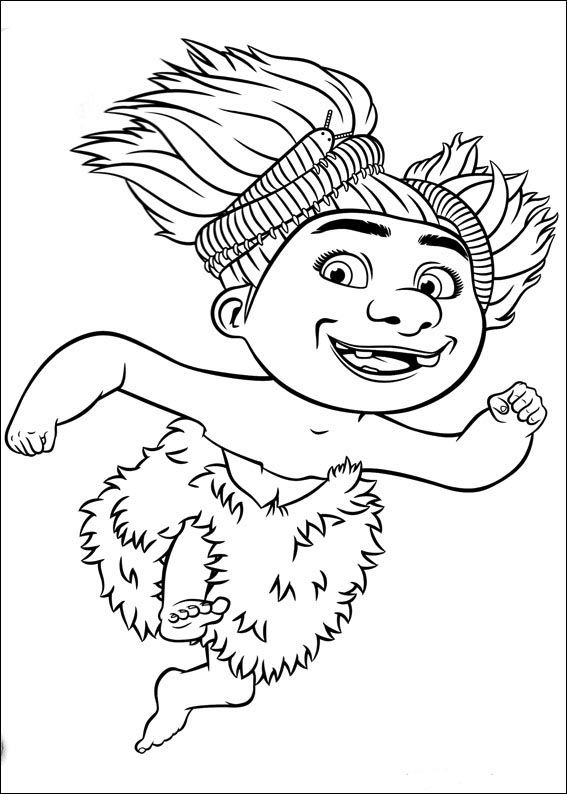 Croods Coloring Pages 11 Super Coloring Pages Coloring Pages Coloring Pages For Kids