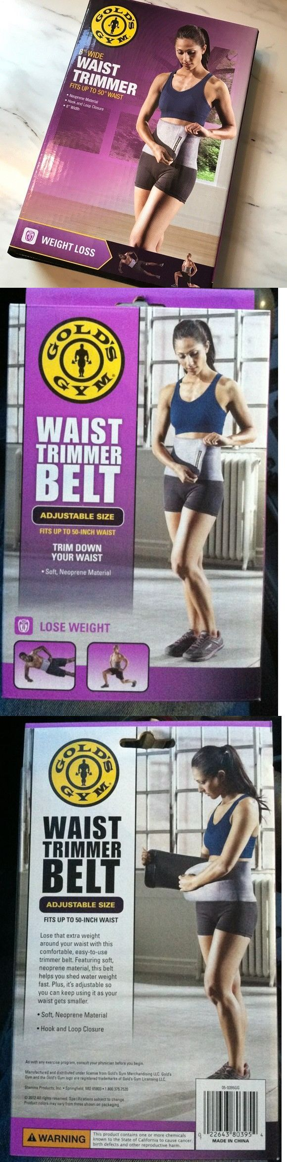 a014449ee72 Other Weight Management 11781  New Gold S Gym Waist Trimmer Belt Reduce  Belly Fat Quickly Nib Weight Loss -  BUY IT NOW ONLY   11.3 on eBay!