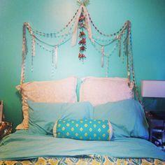 Diy Bed Headboard Boho Ideas
