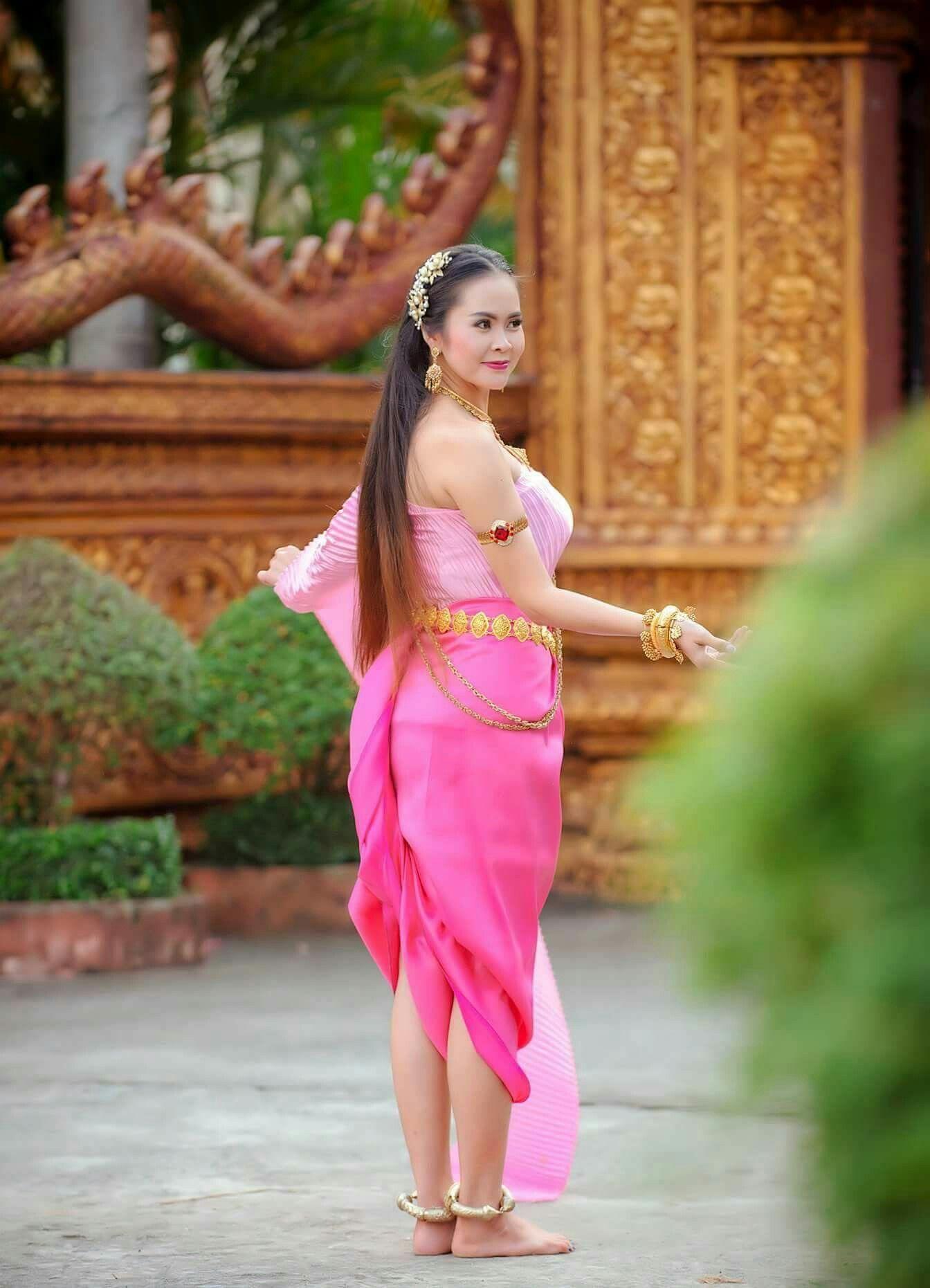 Charm of khmer costume charm of khmer bride wedding tips