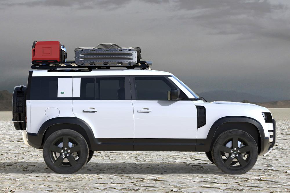 Front Runner 2020 Defender Roof Rack Hiconsumption Land Rover New Land Rover Defender Land Rover Defender