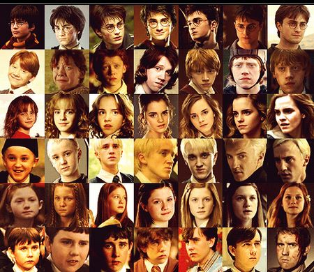Harry Potter Fan Art Characters Over The Years Harry Potter Characters Harry Potter Backpack Harry Potter Cast