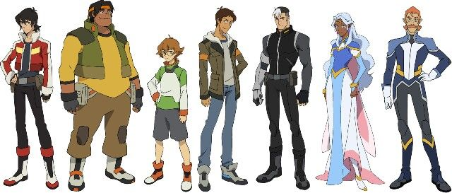 Height reference | voltron | Pinterest