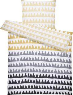 Bettwäsche Aus 100 Baumwolle Renforcé In Der Farbe Gelbschwarz
