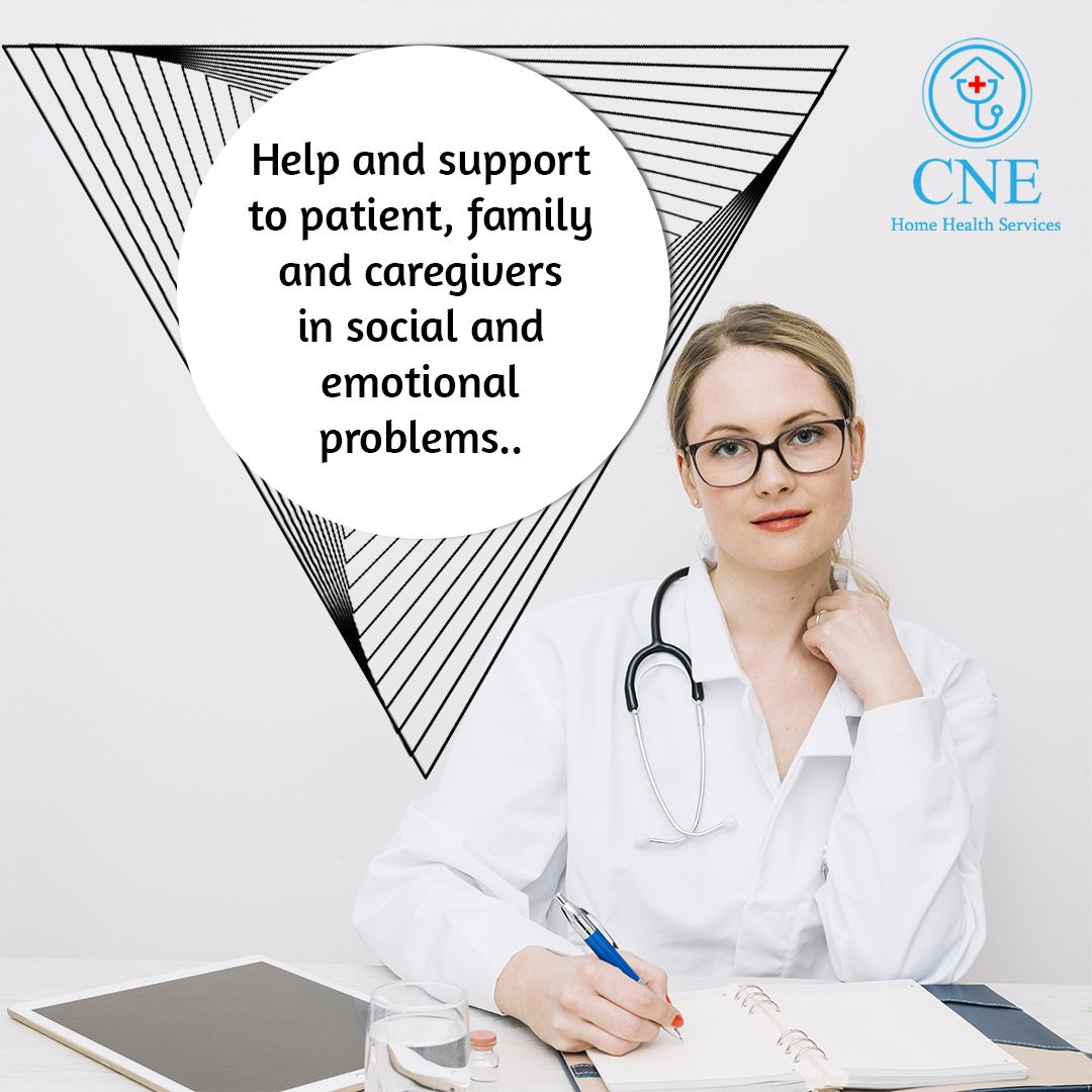 Medical Social Workers Are Responsible For Offering The Support And Resources That Patients Need In Order To Home Health Home Health Care Home Health Services