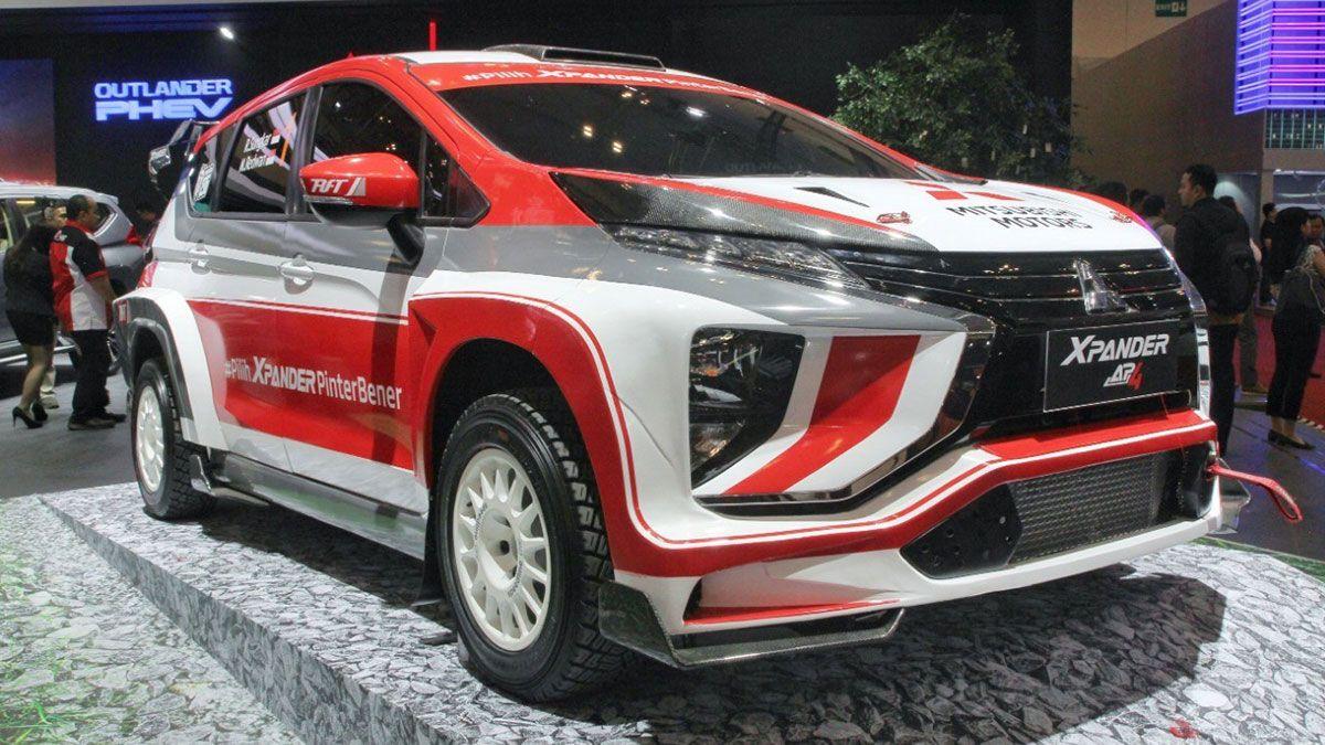 The Mitsubishi Xpander AP4 is a mean 350hp rally machine