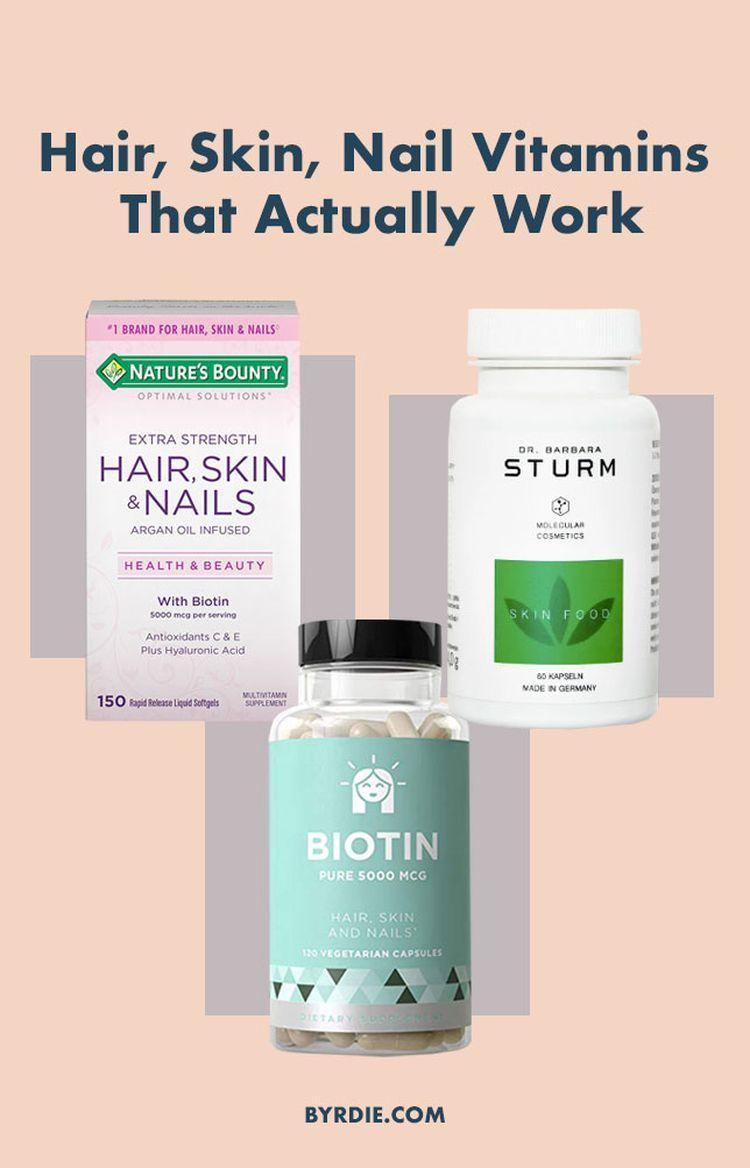 11 Hair Skin And Nail Vitamins That Actually Work Hair