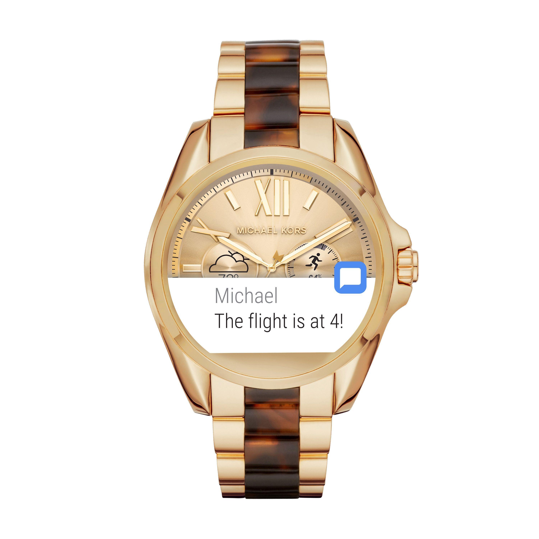 ea2f185e65 Michael Kors Access Mkt5003 Ladies Bracelet Smart Watch | House of ...